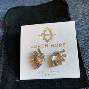 Loren Hope crystal earrings